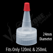 Pouring Cap Bottle 24mm, 28mm