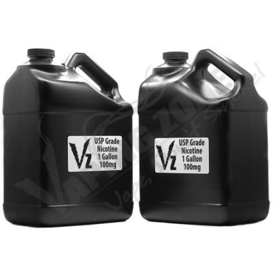 2 Gallons of 100 mg Flavorless USP Wholesale Nicotine Liquid