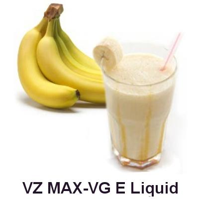 VZ Max-VG Banana Nut Milkshake E-Liquid