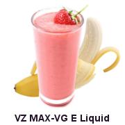VZ Max-VG Strawberry Banana Smoothie E-Liquid