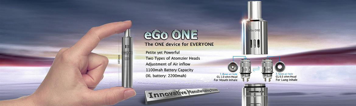 eGo ONE Series of e-cigs from Joyetech