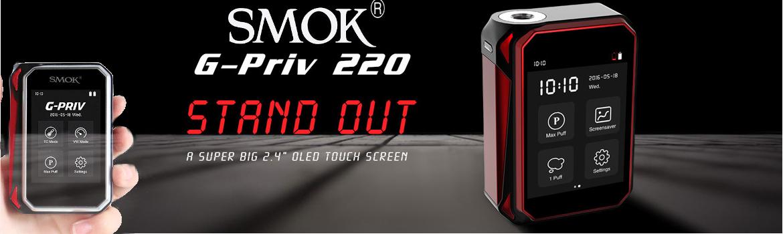 Smok G-Priv 220 Watt Mod