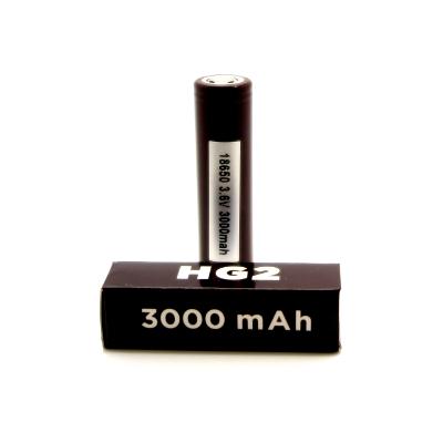 LG HG2 LiMn 18650 Vape Battery 3000mah