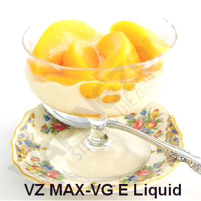 VZ Max-VG Peaches and Cream E-Liquid
