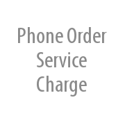 Phone Order Service Charge