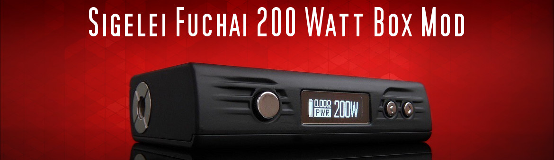 Sigelei FUCHAI 200W TC Temp Control Box Mod