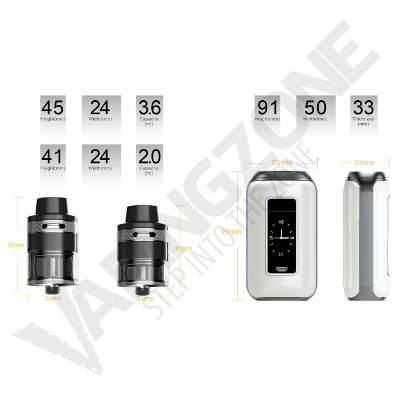 Aspire Skystar 210W TC E Cigarette Starter Kit