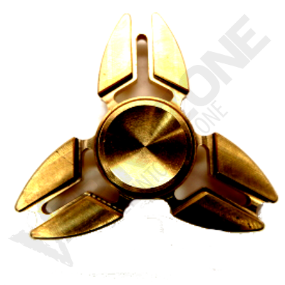 VZ Claw 3 Side Fidget Spinner Copper