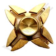 VZ Claw 4 Side Fidget Spinner Copper