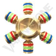 VZ 6 Side Fidget Spinner Copper