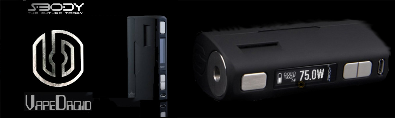 Vapor Droid-E Cig Mod