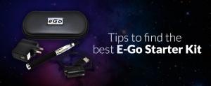 Tips To Find The Best E-GO Starter Kit