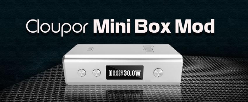 Cloupor Mini 30W VV/VW Box Mod