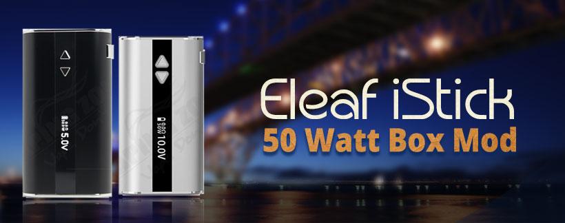 eleaf 50 watt box mod