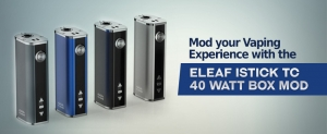 Mod Your Vaping Experience With the Eleaf iStick TC 40 Watt Box Mod