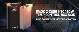 SMOK X CUBE II TC 160W TEMP CONTROL BOX MOD- E-Cig Therapy For Nicotine Addiction