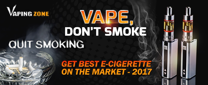 Quit Smoking and Get Best E-Cigarette on the Market at Vapingzone.com