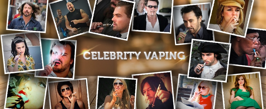 They Are Lovin' It: Celebrities' Take On Vaping