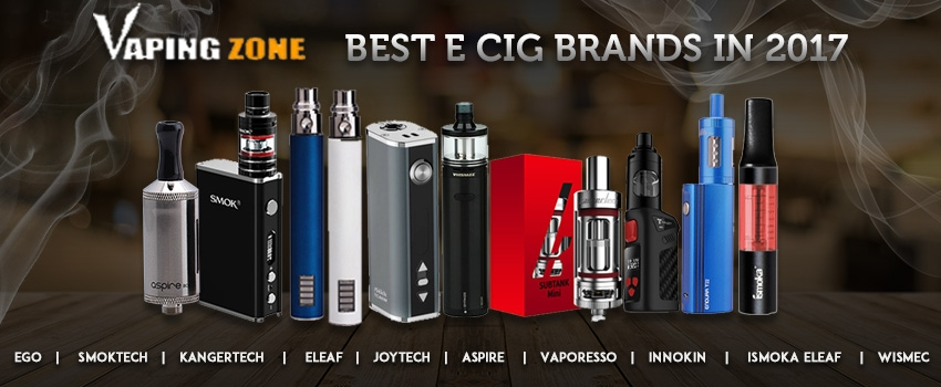 The Best E Cig Brands in 2017