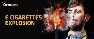 E Cigarette Vape Explosion