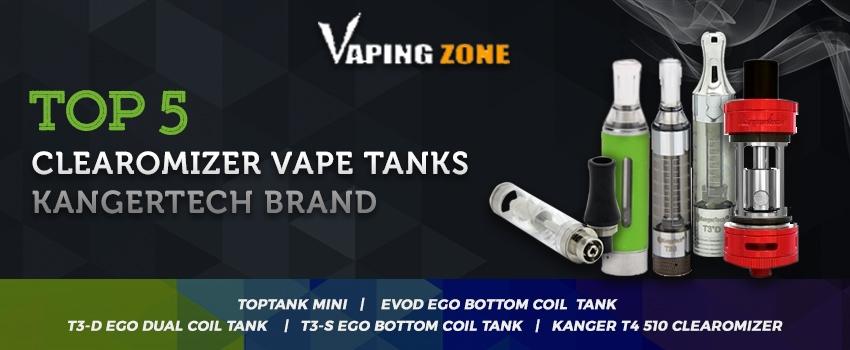 Top 5 KangerTech Clearomizer Vape Tanks of 2017