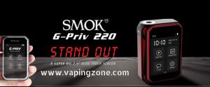 SMOKTech G-Priv 220 Touchscreen Box Mod