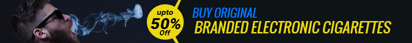 Buy Original Branded Electronic Cigarettes