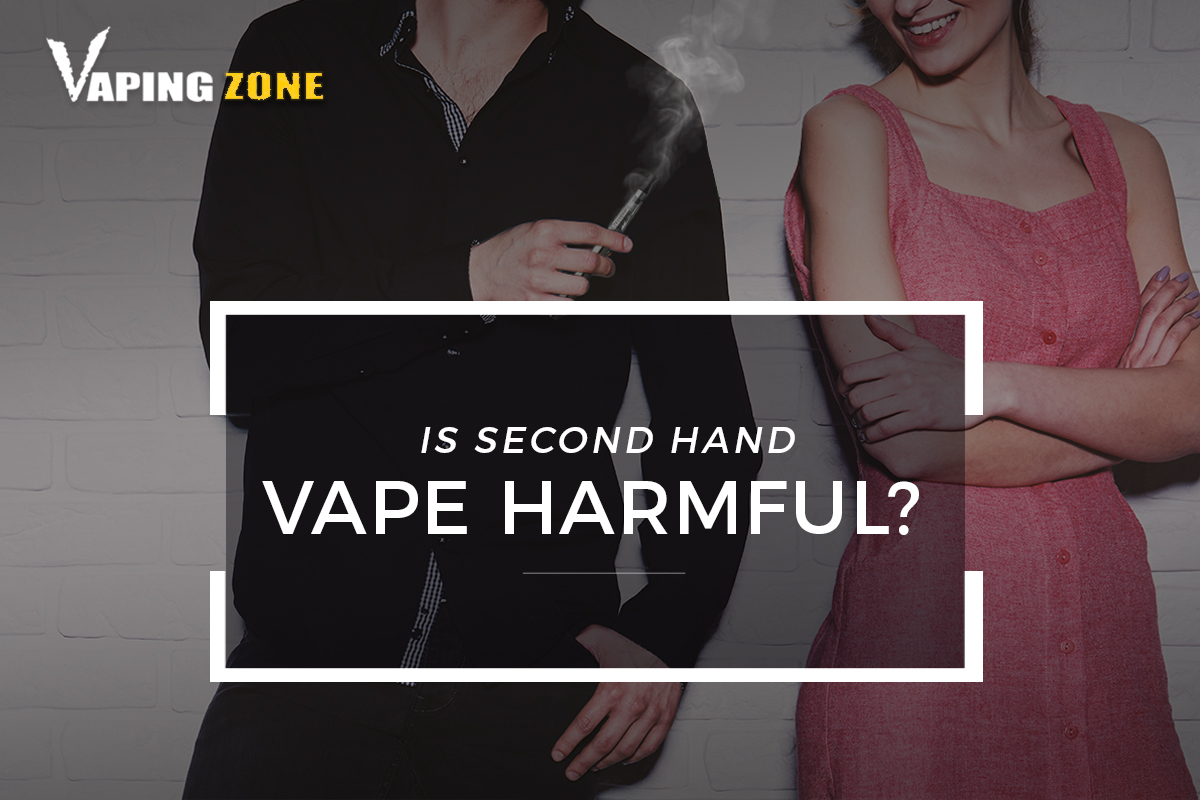 Is Second Hand Vape Harmful?