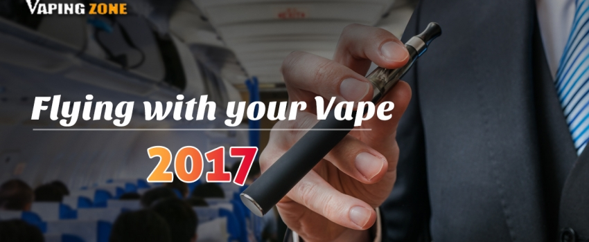 Travelling With E Cigarettes On A Plane in 2017