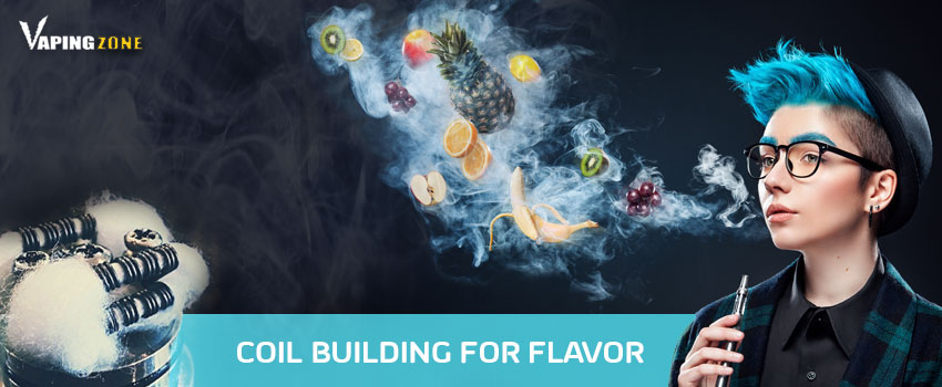 Vape Coil Building For Vape Flavor