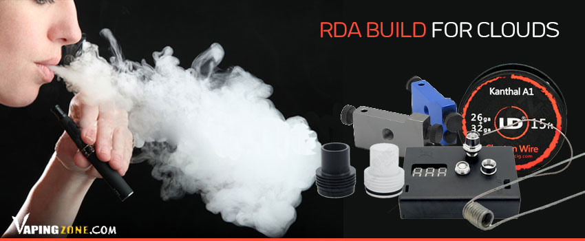 RDA Build For clouds-Vape Coils