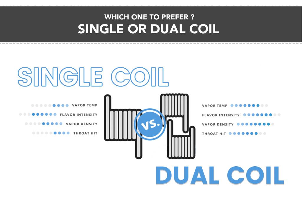 Single Vape Coil Vs. Dual Coil