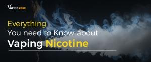 Nicotine vapor E Cigarette