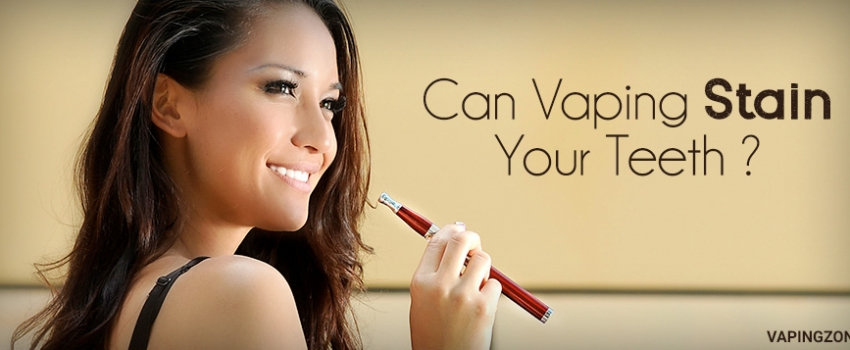 Can Vaping Stain Your Teeth?
