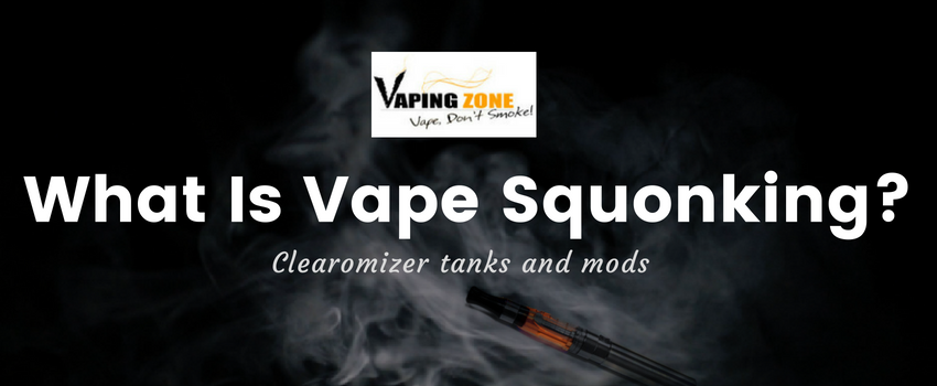What is Vape Squonking?