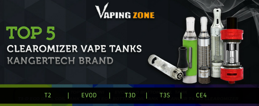 Top 5 Kangertech Clearomizer Vape Tanks of 2018