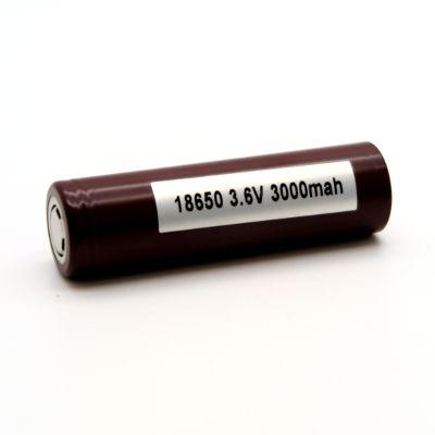 LG HG2 18650 Vape Battery   3000mAh 20A-35A Peak Li-ion Batteries