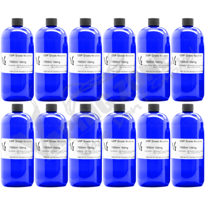 12 Liters of 100 mg Flavorless USP Wholesale Nicotine Liquid