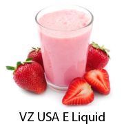VZ USA Strawberry Milkshake E-Liquid