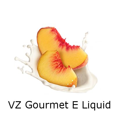 VZ Gourmet Peaches and Cream E-Liquid