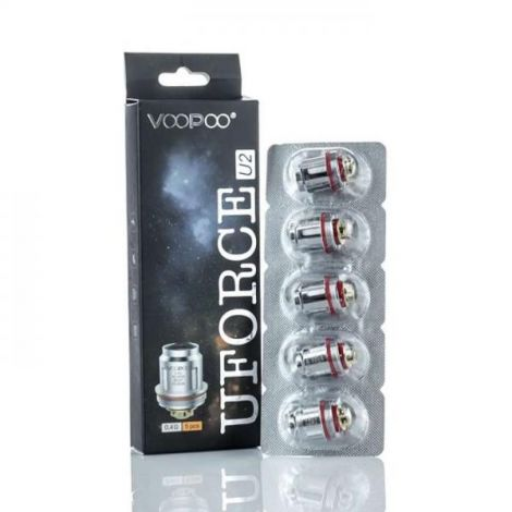 Voopoo Uforce Replacement Mesh Vape Coils (5 Pack)