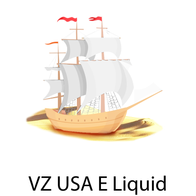 VZ USA Desert Ship White E-Liquid