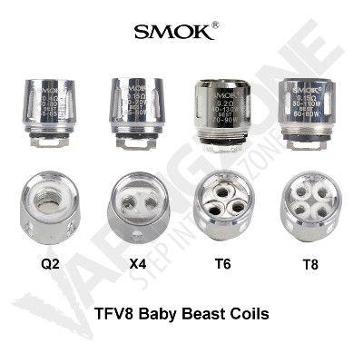 Smok TFV8 Baby Beast Coils