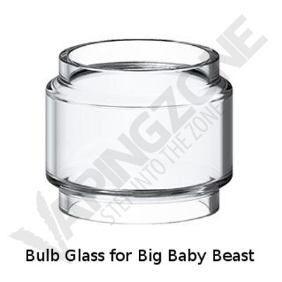 Bulb Replacement Glass Tube For Smok Big Baby TFV8