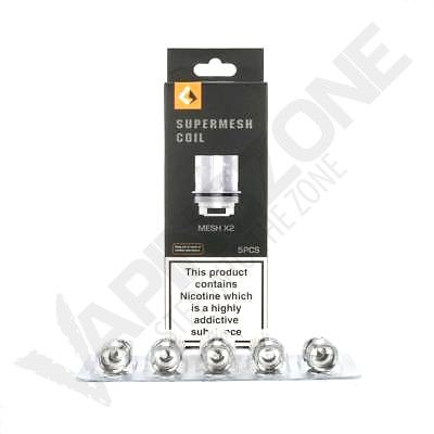 GeekVape Super Mesh Replacement Coils (Pack of 5)