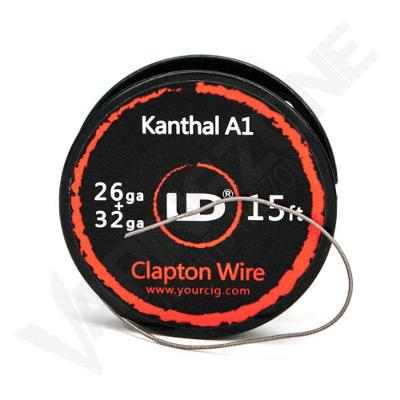 Clapton Kanthal A1 wire 26 & 32 Gauge - 15 Feet