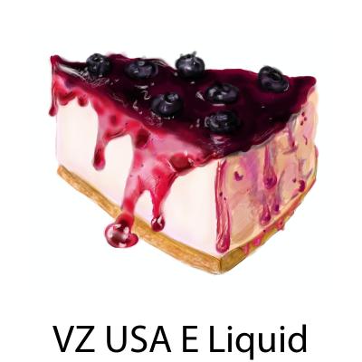 VZ USA Blueberry Cheesecake E-Liquid