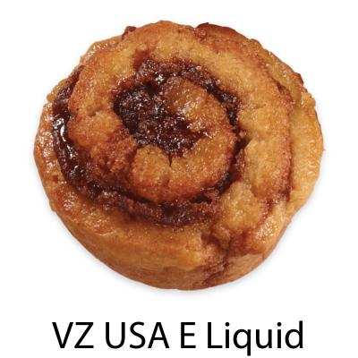 VZ USA Cinnamon Roll E-Liquid