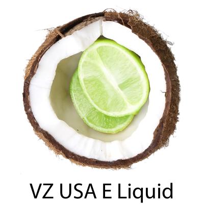 VZ Lime in da Coconut E-Liquid