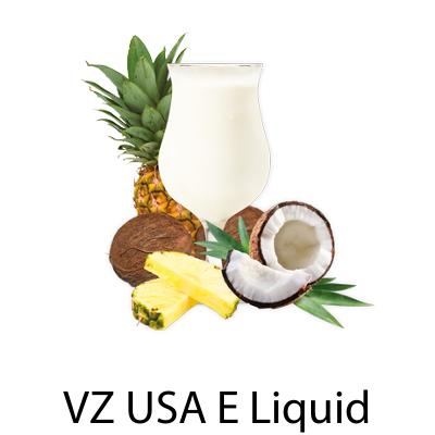 VZ USA Pina Colada E-Liquid